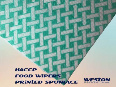 printed color coded non-woven Spunlace